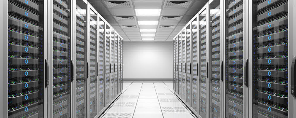 Picture of a organized datacenter | ADVANTESCO